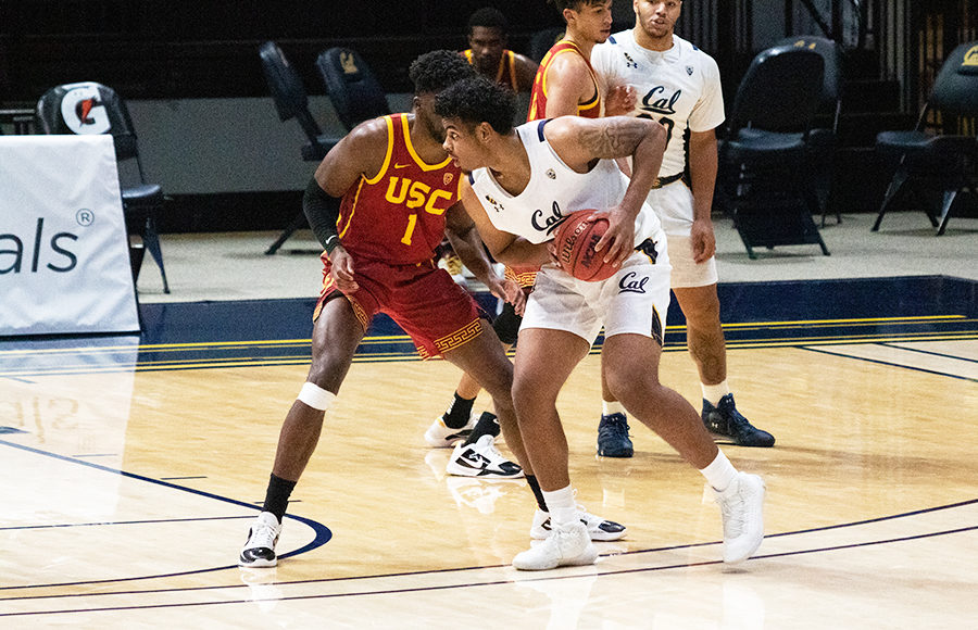 Photo of Andre Kelly of Cal Men's Basketball