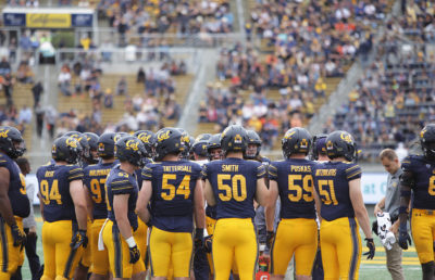 Photo of Cal Football players
