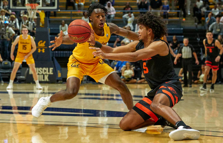 Photo of Cal Men's Basketball vs Oregon State