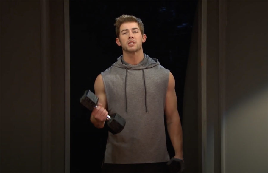 Photo of Nick Jonas on SNL