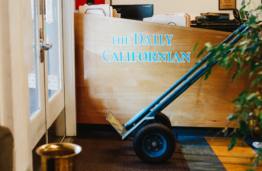 Photo of The Daily Californian Front Desk