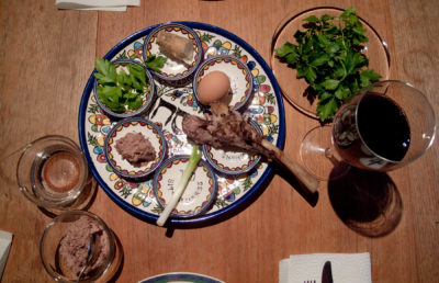 Photo of Passover food