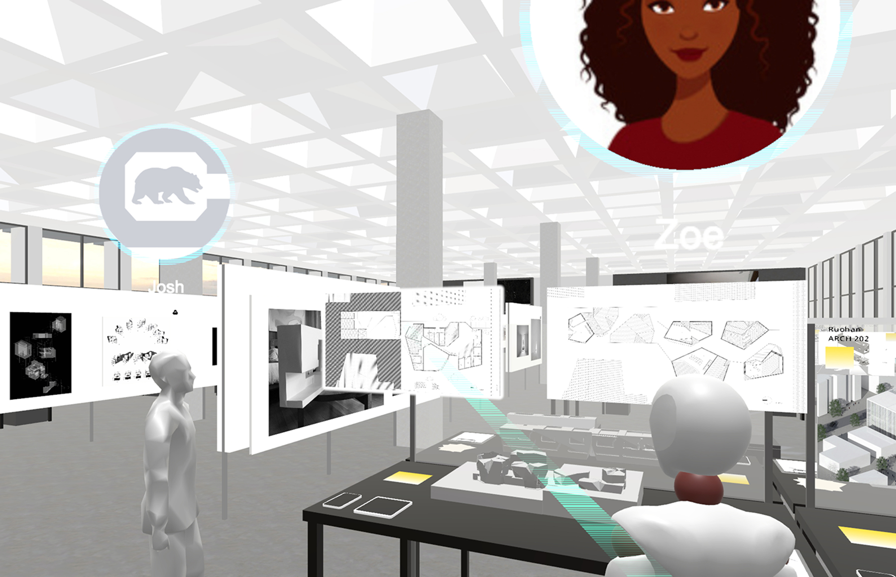 Virtual reality project provides online space for architecture students