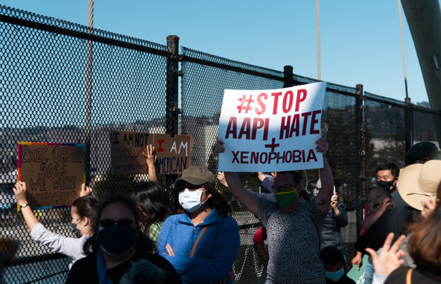 Photo of AAPI protest