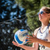Photo of Jordan Polo of Cal Beach Volleyball