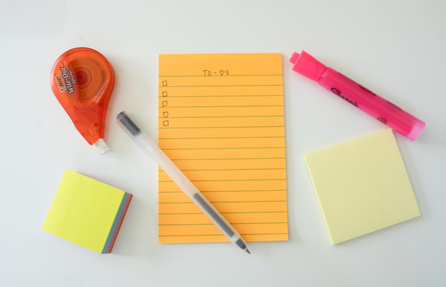 Image of to-do list