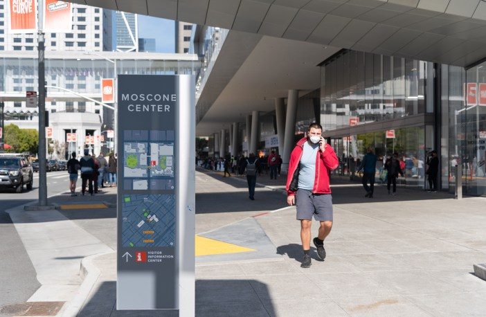 Photo of Moscone Center Vaccination site
