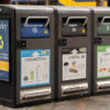 Photo of Berkeley trash compactors
