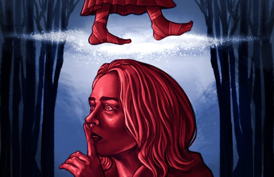 Illustration of the movie A Quiet Place