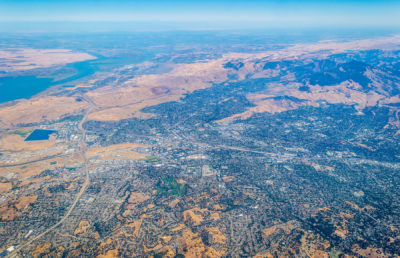 Photo of California drought land