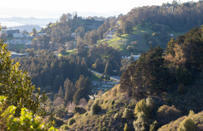 a photo of berkeley hills