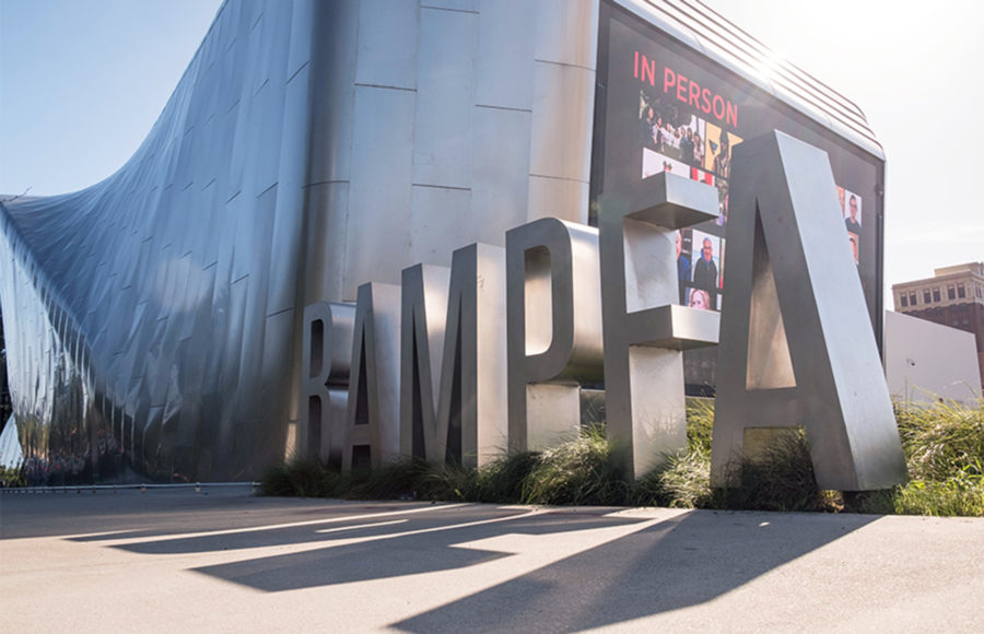 photo of BAMPHA letters outside of the building