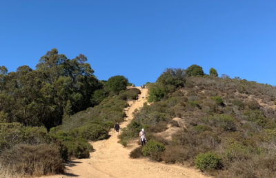 photo of people on a hiking trail