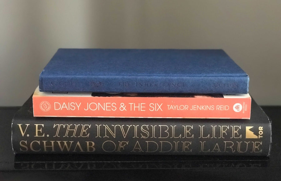 photo of a stack of 3 books