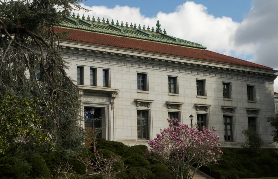 photo of California Hall on campus