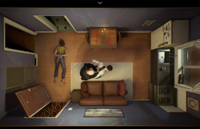 screenshot from the video game 12 Minutes