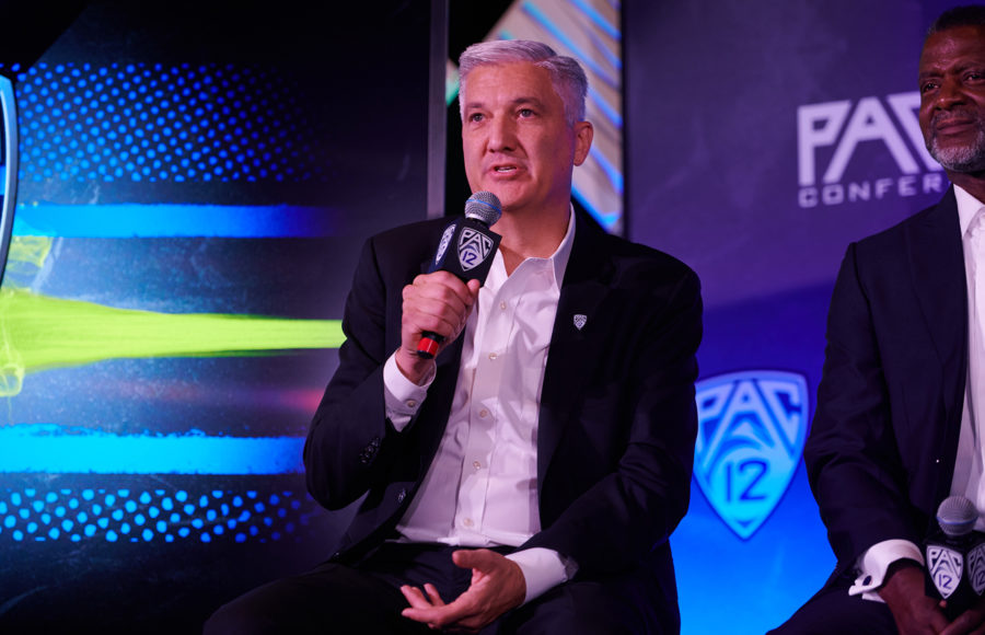 Photo of Pac-12 Media Day