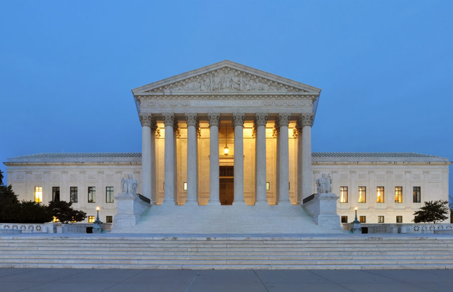 photo of the US Supreme Court