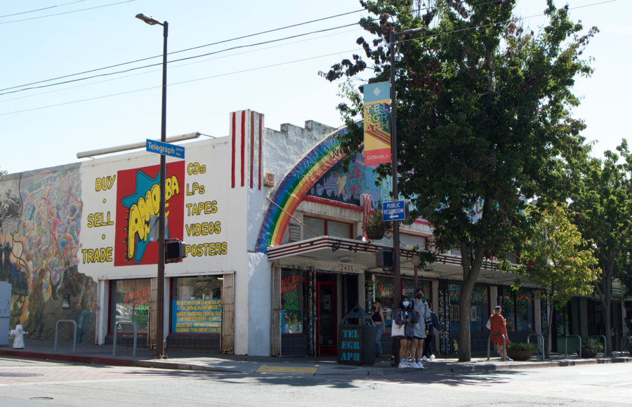 photo of businesses on Telegraph Ave