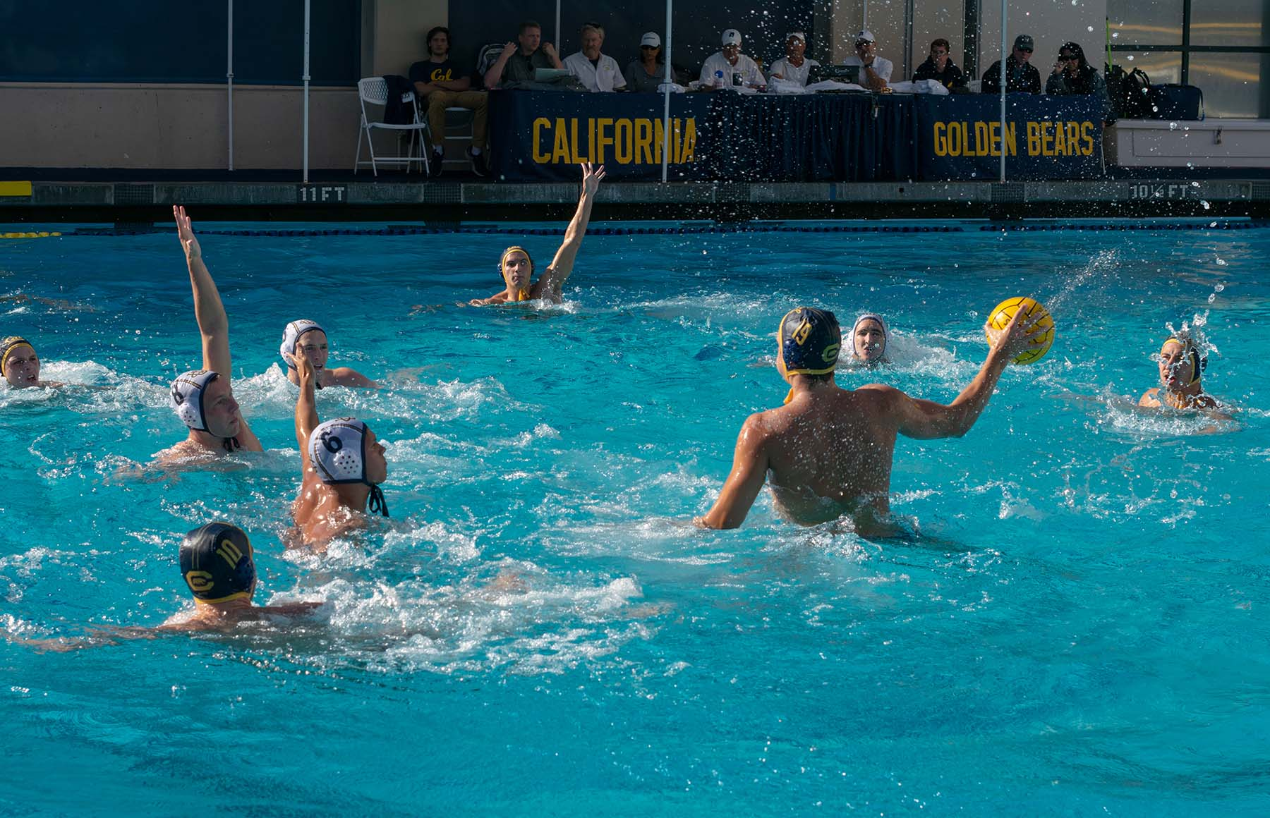 Photo of men's water polo match