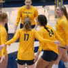 photo of the Cal Women's volleyball team