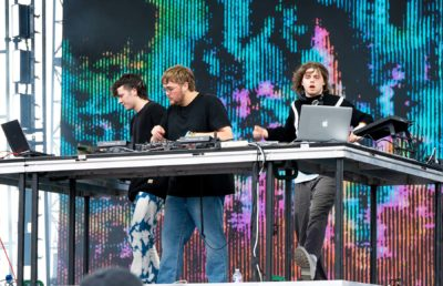 Photo of WAVEDASH at the Second Sky Music Festival