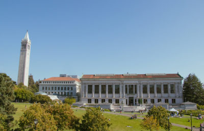 photo of Doe Library on UC Berkeley's campus