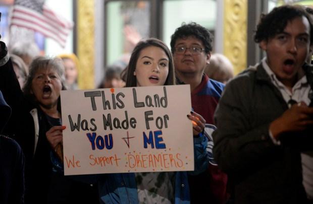 DACA Vigil in Longmont