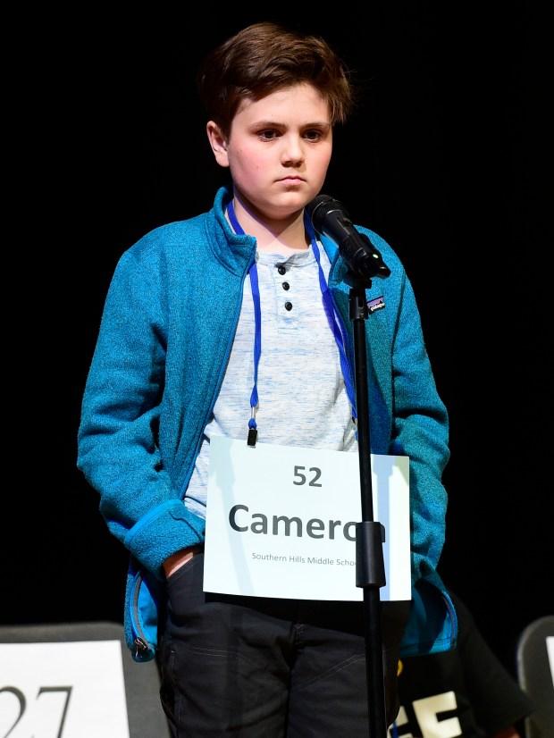 Cameron Keith keeps his poker face ...
