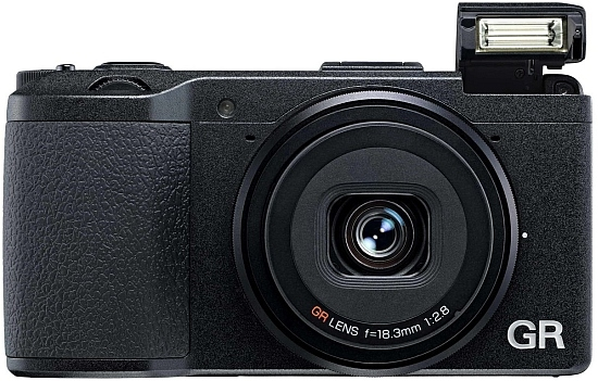 ricoh gr camera front