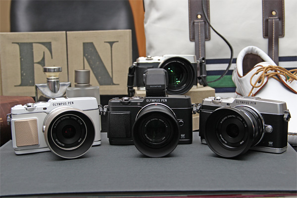 Olympus-PEN-E-P5-camera-colors