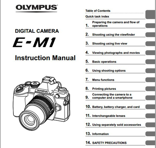 olympus om d e m1 manual now available for download daily camera news rh dailycameranews com olympus om-d mode d'emploi olympus om-d manual pdf