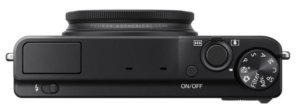 Fujifilm XQ1 camera_top