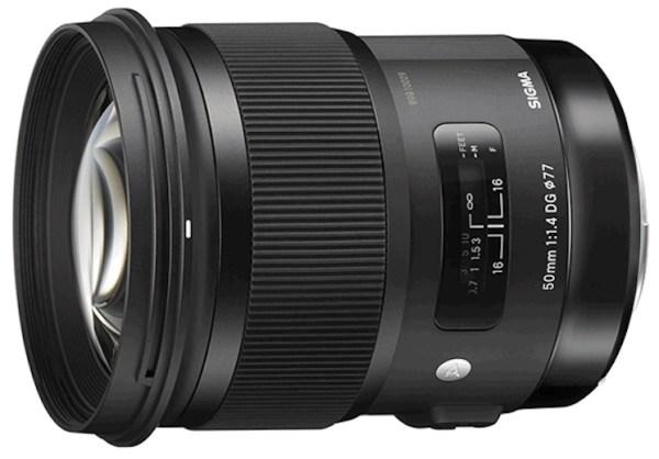 sigma-50mm-f14-lens