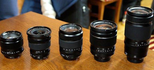 Fuji-XF-lenses