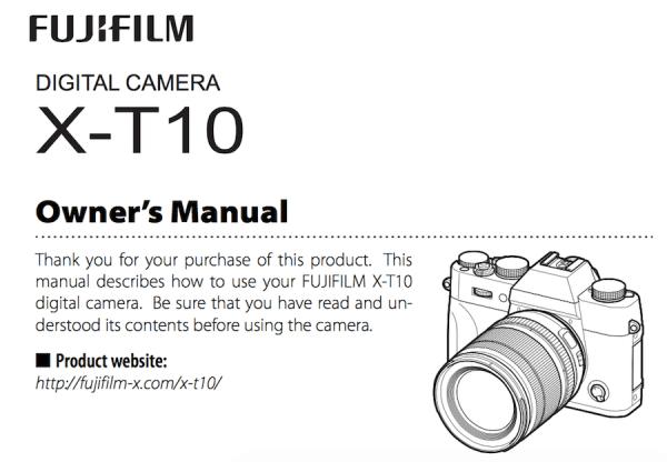 fujifilm-x-t10-users-manual