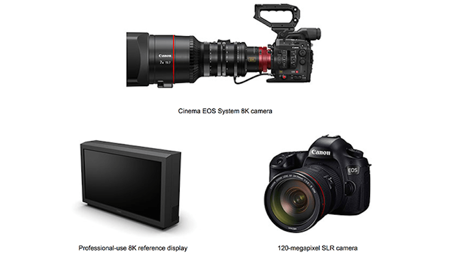 Canon Announces The Development of a New 8K Camcorder and 120 ...