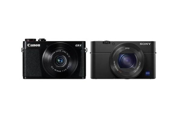 Canon G9 X vs Sony RX100 IV Comparison