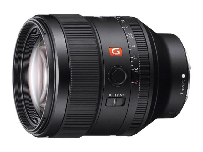 sony-85mm-f14-g-master-lenses-for-fe-mount