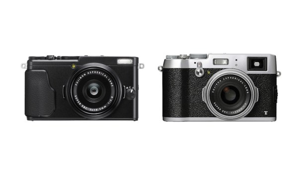 Fujifilm X70 vs X100T Comparison
