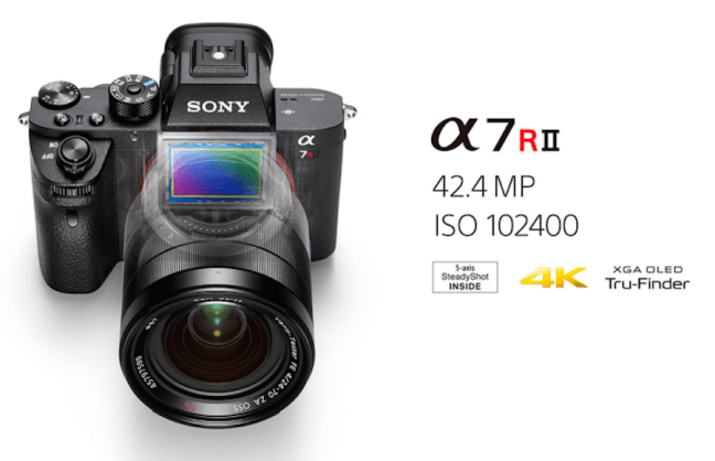 Sony A7RII Firmware Update Verison 3.30 Released