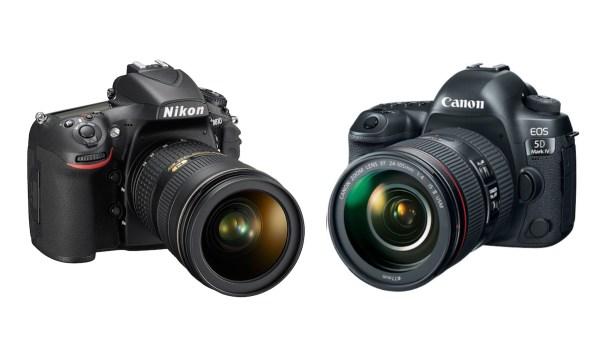 Canon EOS 5D Mark IV vs Nikon D810 Comparison