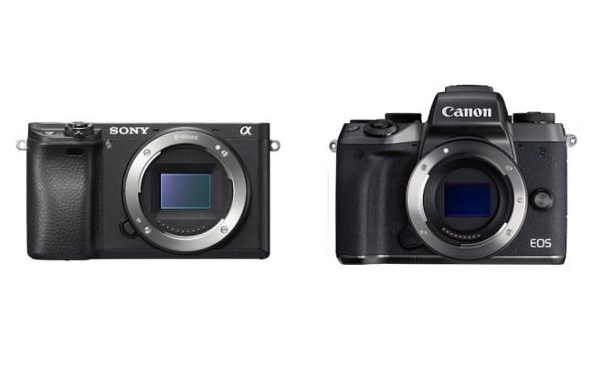Canon EOS M5 vs Sony A6300 Comparison