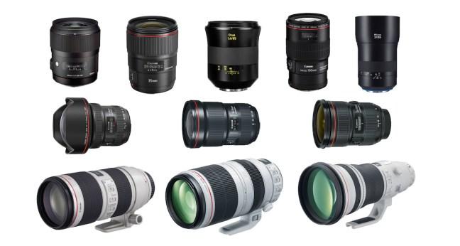 Best Lenses for Canon EOS 5D Mark IV DSLR Camera