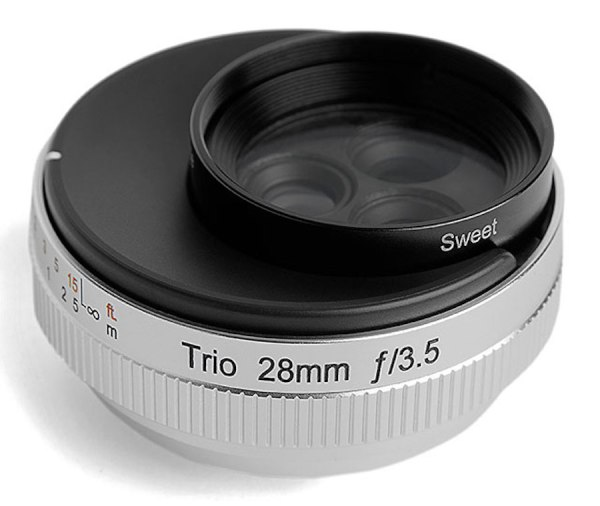 Lensbaby Trio 28mm f/3.5 lens announced for mirrorless cameras