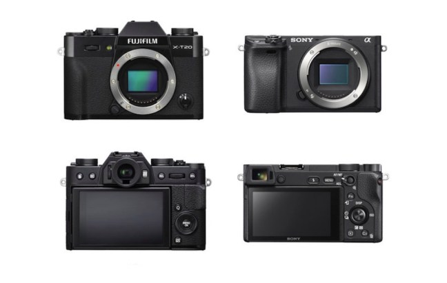Fujifilm X-T20 vs Sony A6500 Comparison
