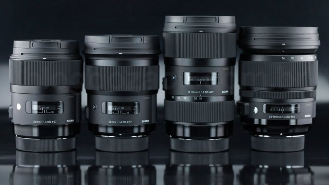 Sigma 14mm f/1.8 and 135mm f/1.8 ART Lenses Coming in 2017