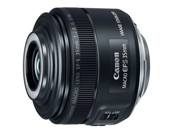 Canon EF-S 35mm F/2.8 Macro IS STM Lens Becomes Official