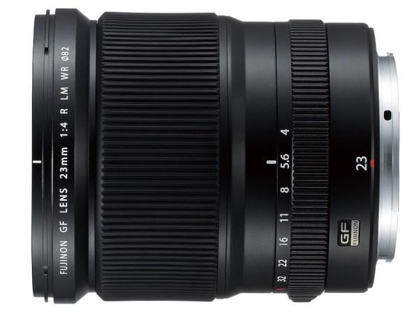 GF 23mm f/4 R LM WR Lens: Super wide-angle lens