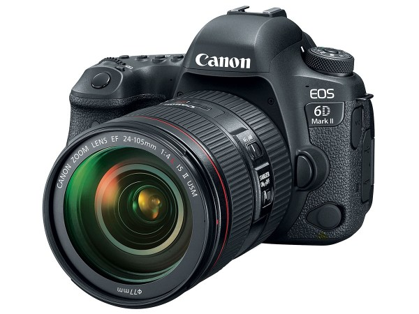 Canon EOS 6D Mark II firmware version 1.0.4 released